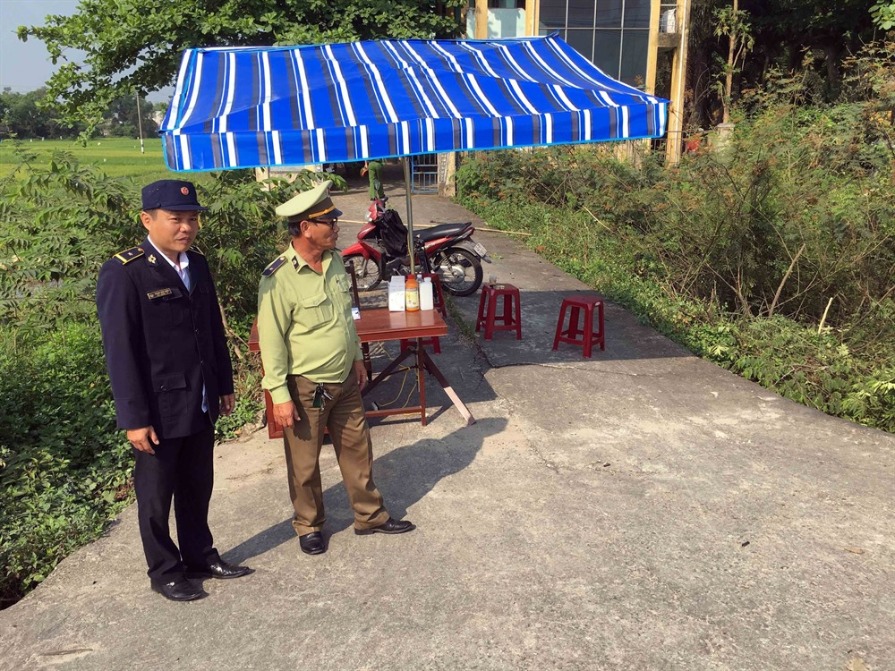 Central and southern provinces closely monitor pig transportation