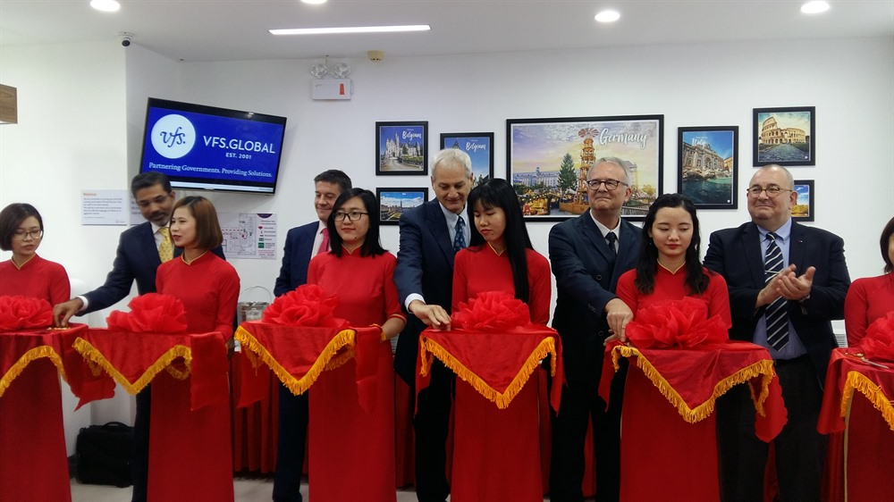 Belgium Germany and Italy launch joint visa centre in Đà Nẵng