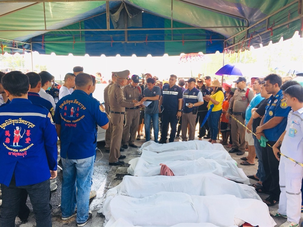Five Vietnamese killed in Thai deadly bus accident