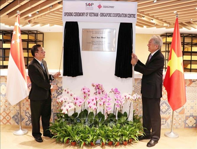 Vietnam-Singapore cooperation centre inaugurated