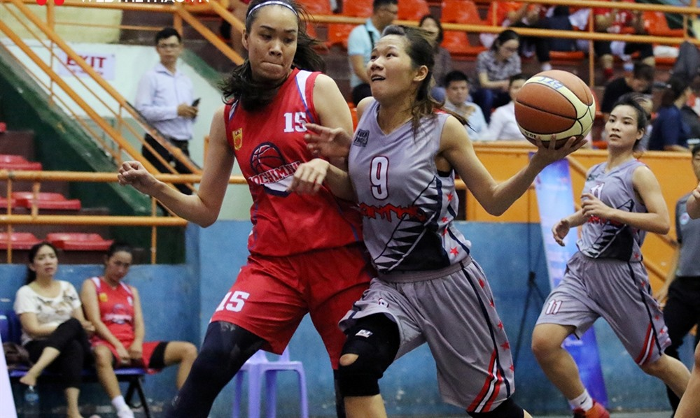 HCM City beat Hậu Giang in national basketball champs