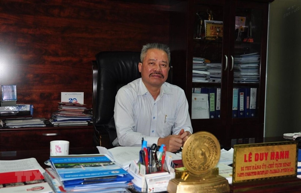 Chairman of Quảng Ninh Thermal Power arrested