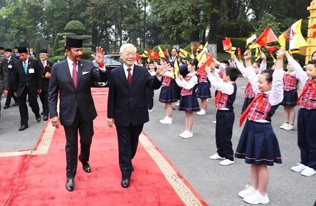 Việt Nam Brunei upgrade ties to comprehensive partnership