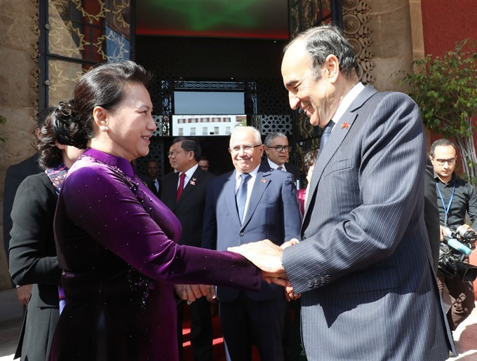 VN Morocco further parliamentarian cooperation