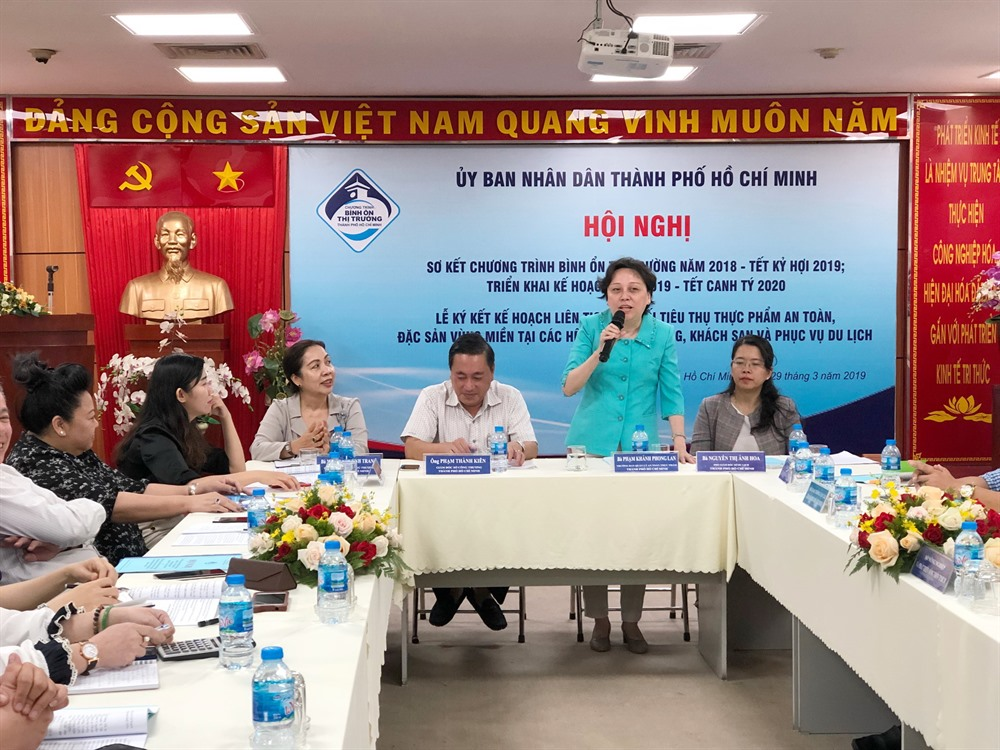 City promotes consumption of safe foods regional specialities at restaurants tourism sites