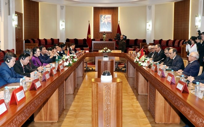 Việt Nam Morocco sign deals to boost environmental trade industrial ties