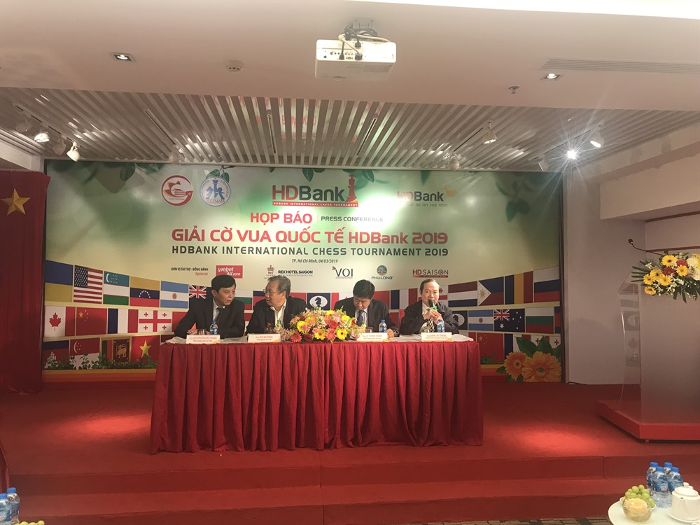 Biggest chess tournament in VN opens