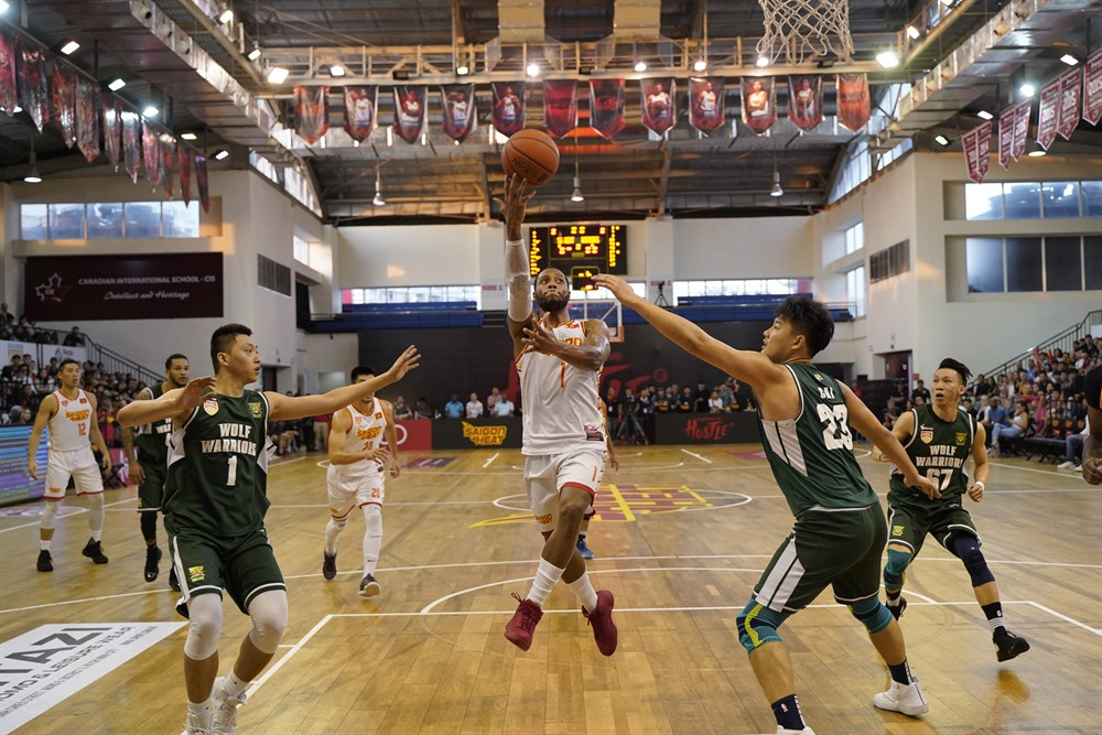 Saigon Heat defeat Zhuhai Wolf Warriors in ABL