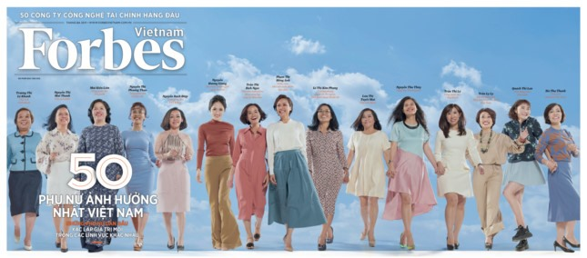 Forbes reveals list of 50 most influential women in VN
