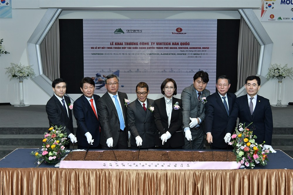 Vingroup opens VinTech research centre in South Korea
