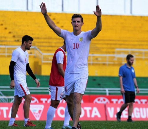 Quảng Ninh axe American striker Sydney Rivera after two matches