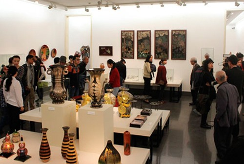 Applied fine arts exhibition launched
