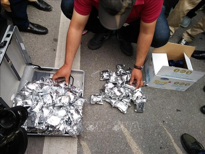 Three drug traffickers arrested in Thái Bình Province