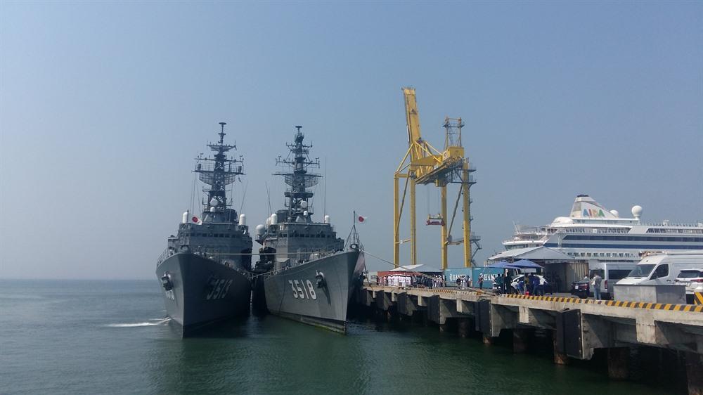 Japanese coast guard ships visit Đà Nẵng