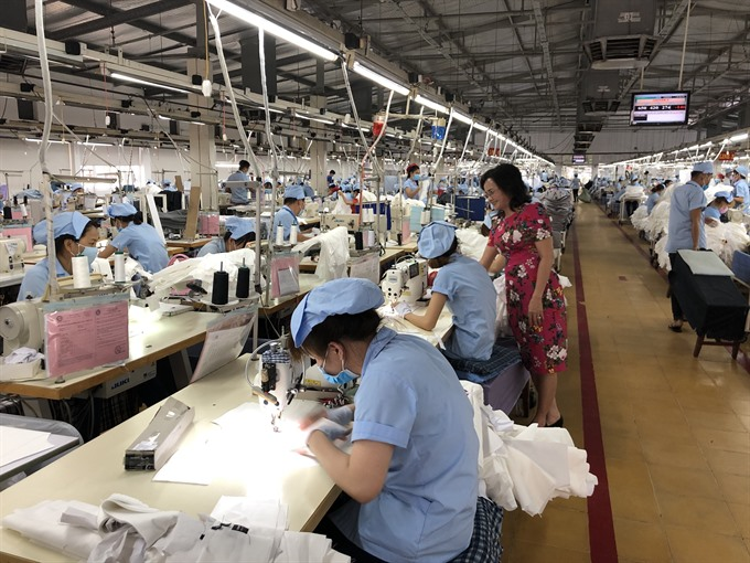 Textiles workers struggle to get by on just 50 a week
