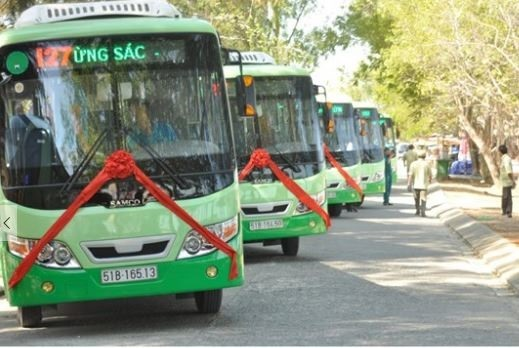 HCM City uses cashless payments for public buses