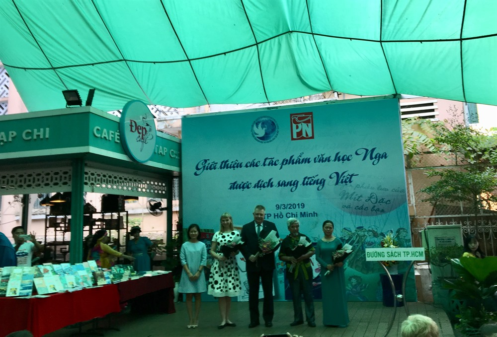 Translated Russian literary gems showcased at HCM City event