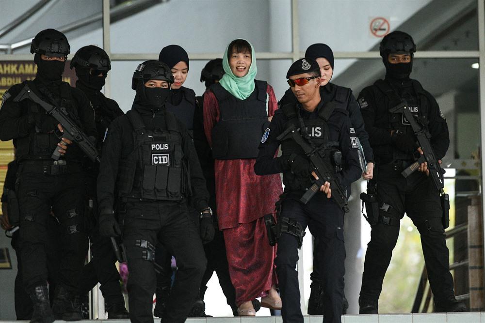 Vietnamese tried in N Korean mans murder case in Malaysia gets 40 months