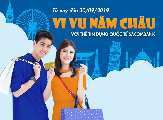 Sacombank offers summer vacation deals on credit cards