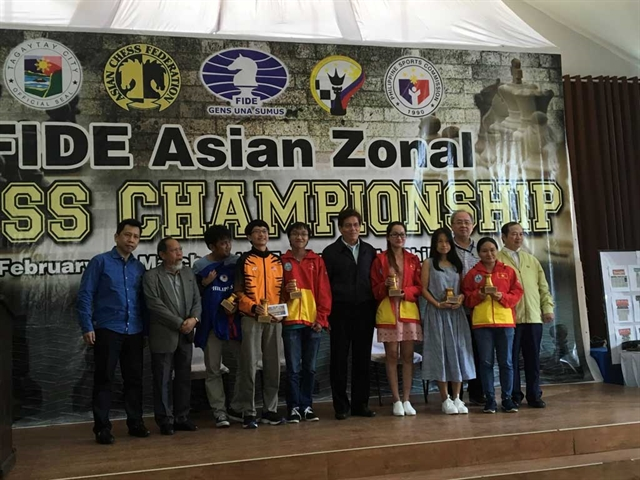 Vietnamese chess masters compete in Mongolia for world champs slots