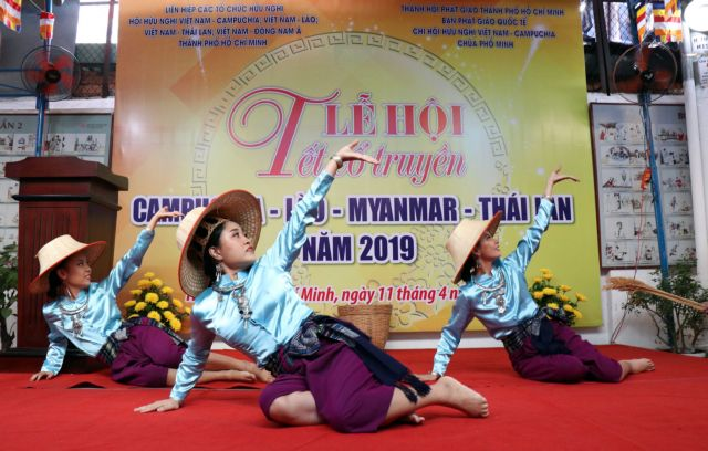 New Year festival of unity for Cambodia Laos Thailand Myanmar celebrated in HCM City