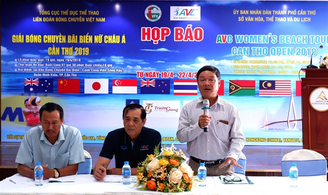 21 teams to take part in Asian beach volleyball event