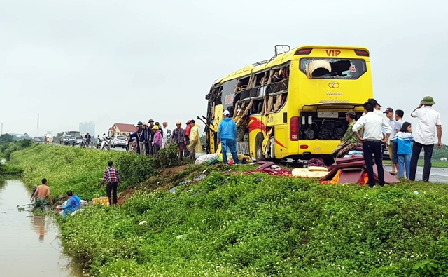 41 people die in traffic accidents during holiday