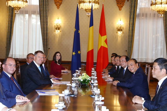 Vietnamese Romanian leaders hope for further bilateral co-operation