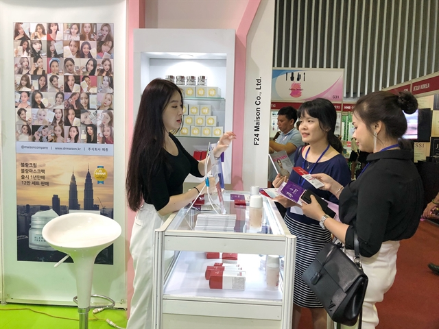 Intl beauty industry exhibition opens in HCM City