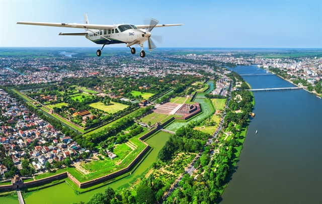 New flight connects the neighbours of Huế Đà Nẵng