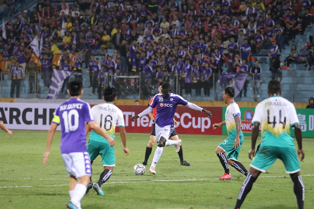 Hà Nội FC suffer first AFC Cup loss