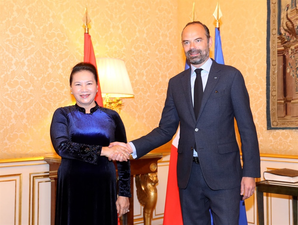 NA leader meets French Prime Minister in Paris