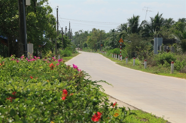 Rural district in Đồng Nai Province gets a well-deserved makeover