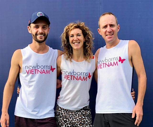 Unique endurance run raises funds for newborn infants