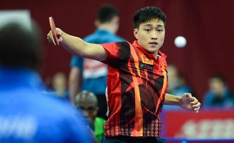 Tú represents Việt Nam at world table tennis champs