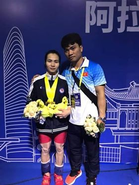 Việt Nam win golds bronzes at Asian Weightlifting Championships