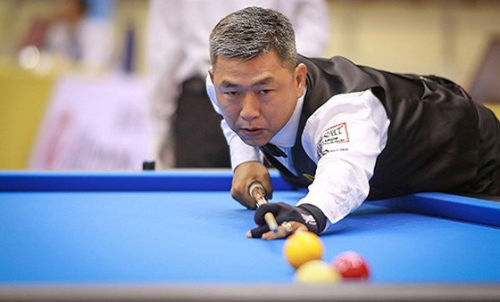 Nại eliminated at Asian Carom Champ