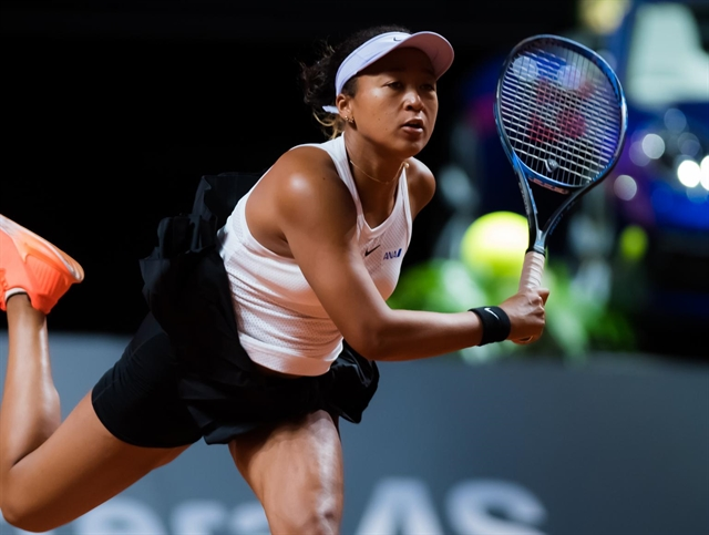 Kid was depressed: Osaka in first clay quarter-final after rough months