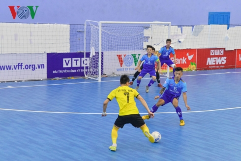 Đà Nẵng defeat Sahako in national futsal champs