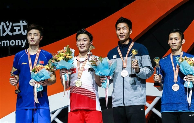 Minh wins Asian badminton bronze