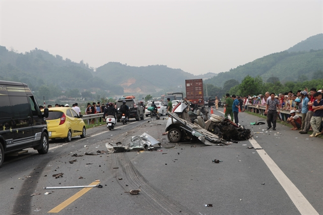 Fewer traffic accidents victims reported in first quarter