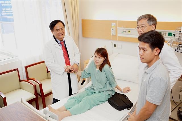 Vinmec Hospital successfully performs HVAD artificial heart transplant