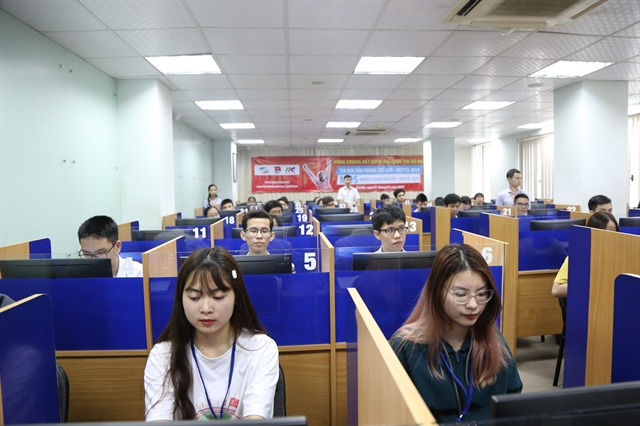 Vietnamese students compete in MOS World Championship