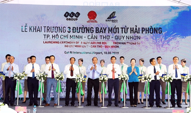 Bamboo Airways launches new air routes connecting Hai Phong