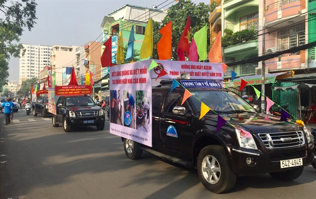 HCM City launches dengue fever campaign on ASEAN Dengue Day