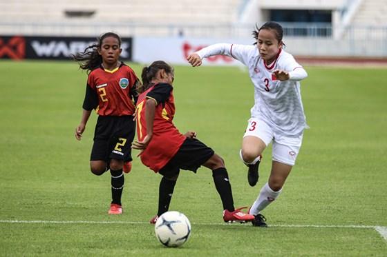 Việt Nam beat Timor Leste at AFF football champs