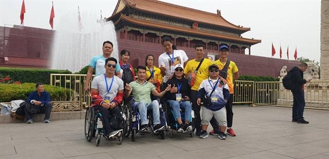Vân claims two titles Việt Nam third strongest at World Para Athletics Grand Prix