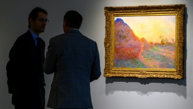 Monet painting draws 110.7 mn at New York auction