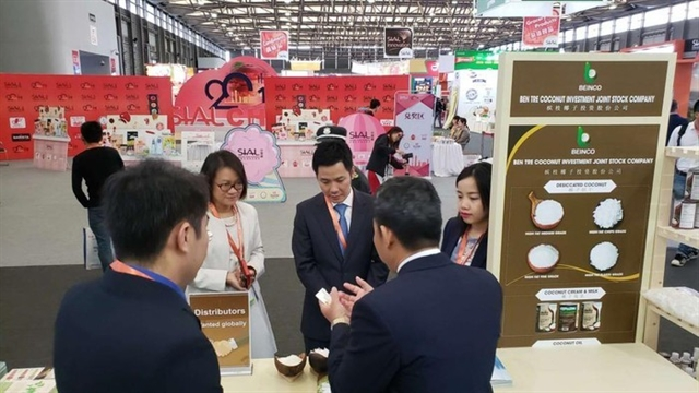 Vietnamese products on show at exhibit in China