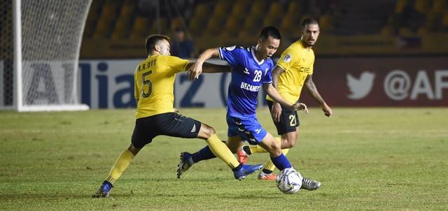 Hà Nội Bình Dương qualify for AFC Cup knockout rounds